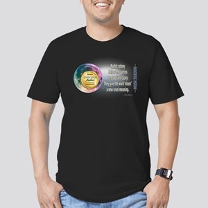Moon Shadow Men's Fitted T-Shirt (dark)