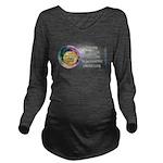 Moon Shadow Long Sleeve Maternity T-Shirt