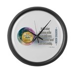 Moon Shadow Large Wall Clock