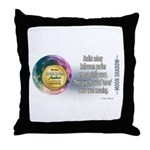 Moon Shadow Throw Pillow