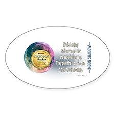 Moon Shadow Sticker (Oval)
