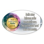 Moon Shadow Sticker (Oval 10 pk)