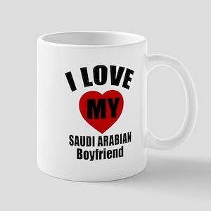 I Love My Saudi Arabia Boyfriend Mug