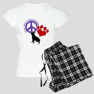 P,L, FRENCHIES Women's Light Pajamas