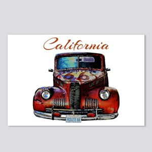 California Route 66 Truck Postcards (Package of 8)
