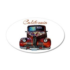 California Route 66 Truck Wall Decal
