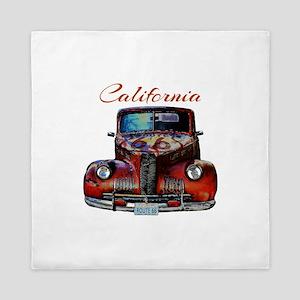 California Route 66 Truck Queen Duvet