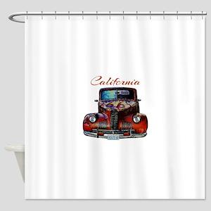 California Route 66 Truck Shower Curtain