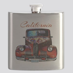 California Route 66 Truck Flask