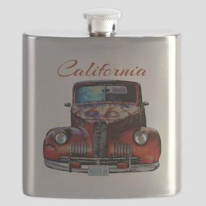 California Route 66 Truck Flask