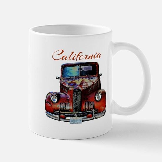 California Route 66 Truck Mugs