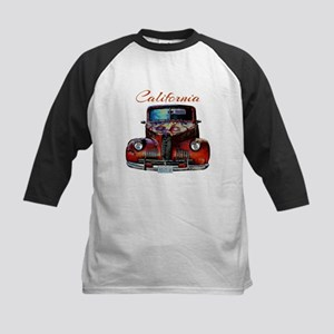 California Route 66 Truck Baseball Jersey