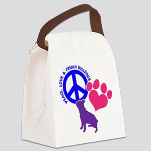 P,L, FRENCHIES Canvas Lunch Bag