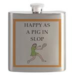 Tennis joke Flask