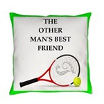 Tennis joke Everyday Pillow
