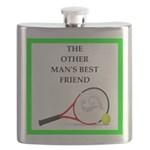 Tennis joke Flask