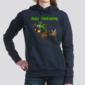 Funny Thanksgiving Women's Hooded Sweatshirt