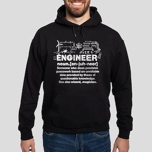 Engineer Funny Definition Hoodie (dark)