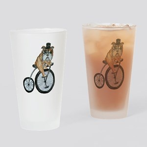 English Bulldog Drinking Glass