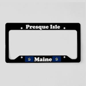 Presque Isle ME License Plate Holder