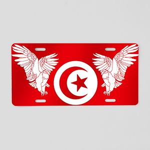 Eagles of Tunisia Aluminum License Plate