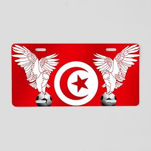 Tunisian Football Aluminum License Plate