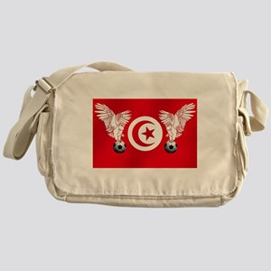 Tunisian Football Messenger Bag