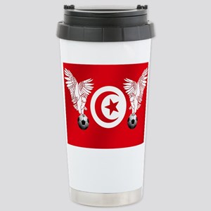 Tunisian Football Stainless Steel Travel Mug