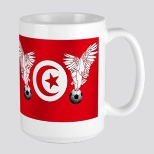 Tunisian Football Large Mug