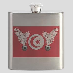 Tunisian Football Flask