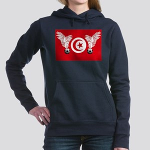 Tunisian Football Women's Hooded Sweatshirt