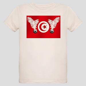 Tunisian Football Organic Kids T-Shirt
