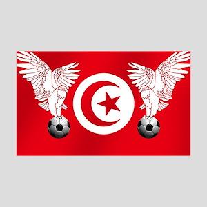 Tunisian Football 35x21 Wall Decal