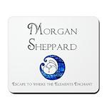 Morgan Sheppard Banner Mousepad