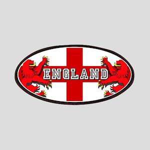 England Lion Flag Patch