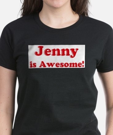 Jenny is Awesome Ash Grey T-Shirt