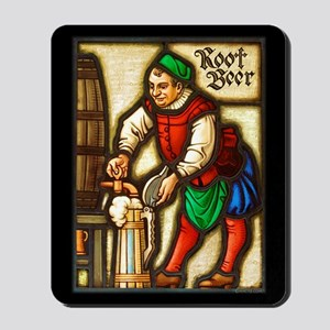 Root Beer Man Mousepad