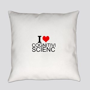 I Love Cognitive Science Everyday Pillow