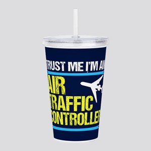 Air Traffic Controller Acrylic Double-wall Tumbler