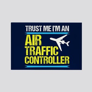 Air Traffic Controller Rectangle Magnet