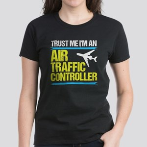 Air Traffic Controller Women's Dark T-Shirt