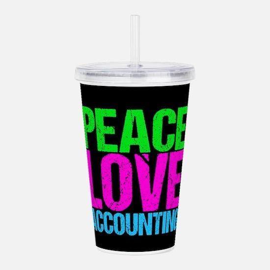 Cute Accountant Acrylic Double-wall Tumbler