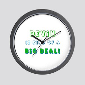 Devin Is Kind of a Big Deal  Wall Clock
