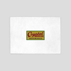 Crystal Club logo 10 5'x7'Area Rug