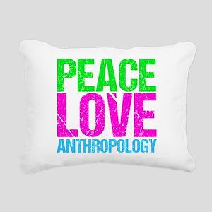 Cute Anthropology Rectangular Canvas Pillow