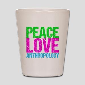 Cute Anthropology Shot Glass