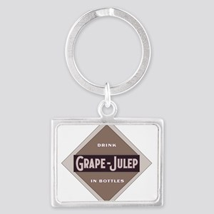 Grape Julep Soda 21 Keychains