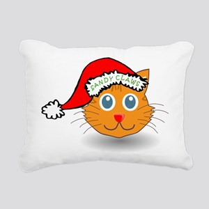 Sandy Claws Rectangular Canvas Pillow