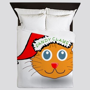 Sandy Claws Queen Duvet