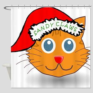 Sandy Claws Shower Curtain
